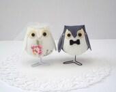Fabric Wedding Owls - Limited Edition