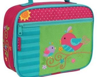 Personalized Stephen Joseph Bird Lunch Box