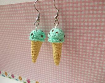 Delicious ice cream, earrings