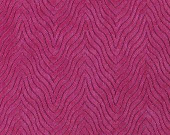 Hot Pink Velvet Upholstery Fabric - Textured Dark Pink Velvet For Furniture - Custom Fuchsia Velvet Pillows - Pink Velvet Headboard Fabric
