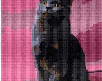 Needlepoint Kit or Canvas: Chartreux