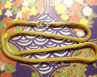 "4 Brass 18"" Mesh Chains Snake Chains Tube Chains 4mm Tube"