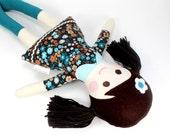 handmade rag doll | camille cloth doll | first doll | keepsake rag doll | eco-friendly doll