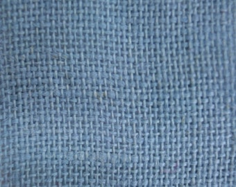 "Baby Blue Burlap Fabric 60"" Wide 15 Yards Wholesale"