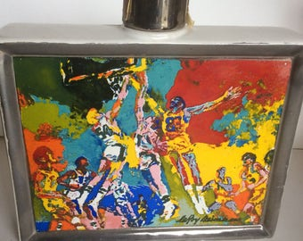 Leroy Neiman Sports Collectible bottle decanter