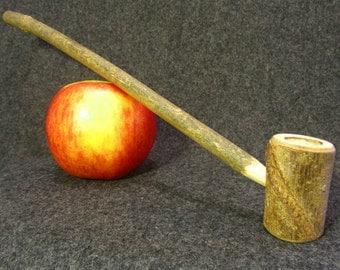 Large Natural Smoking Pipe, Hobbit Pipe, Wooden Pipe. Long Wizard Pipe. Wild Wood Pipe.