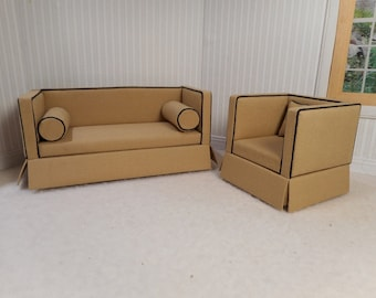 Loveseat and chair for Janne