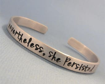 Charity Series - Nevertheless, She Persisted - Raising Money for Planned Parenthood