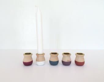 Wooden Candle Cups, Home Decor, Candle