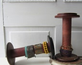 One Vintage Textile Bobbin Spool Bracelet Holder - Great for Cuffs - Quantities Ready to Ship