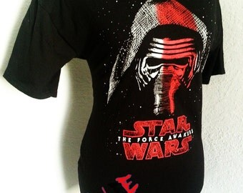 Ladies STAR WARS tunic boat neck top available in XS S M or L