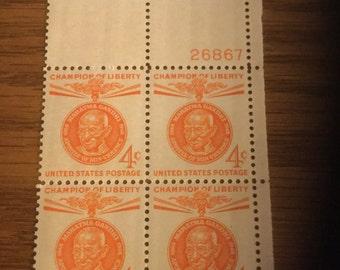 Vintage 4 cent postage stamps