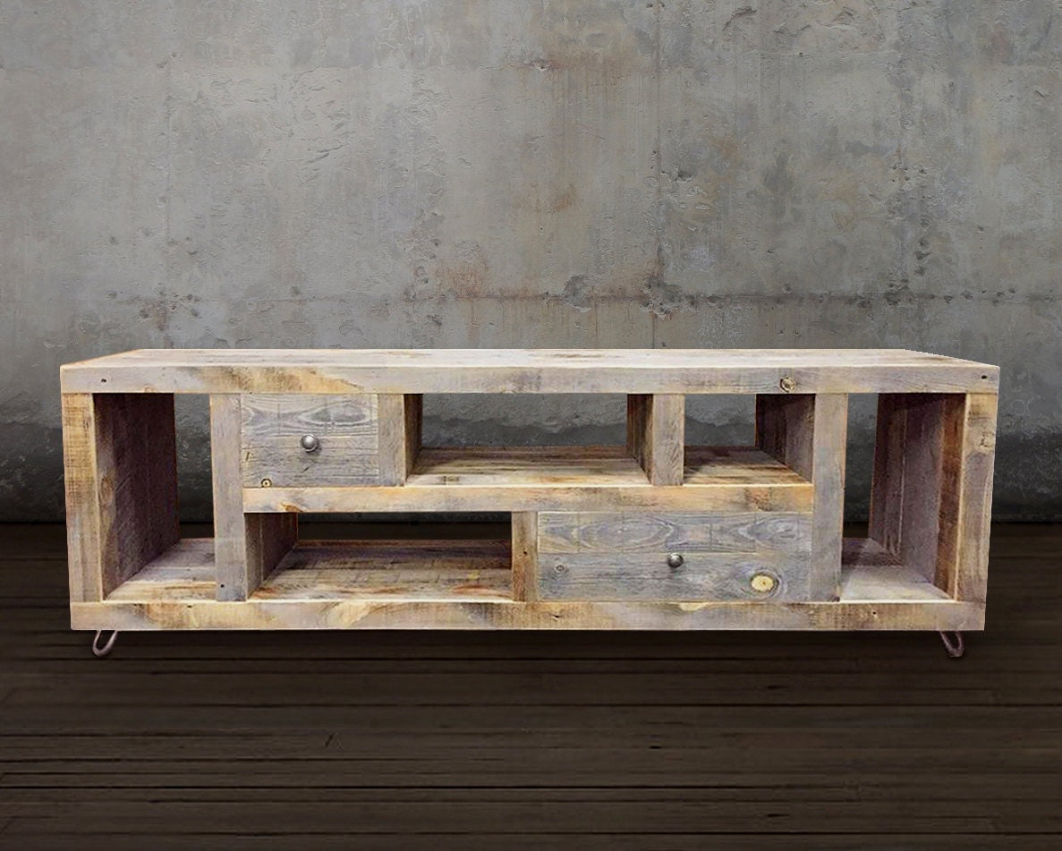 - Reclaimed TV Stand/Media Console/Wood Credenza