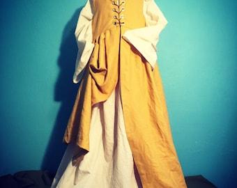 renaissance gown, renfaire clothing, fairytale costumes, girls dresses , halloween costume, medieval costume, celtic dress, theatre costume