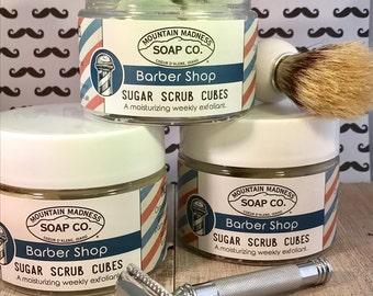 Barbershop Sugar Scrub Cubes
