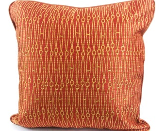 Dark orange pillow Etsy