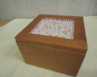 Jewellery Box,Memory Box Etc.Hand Decorated,Unique