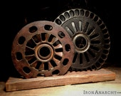 Steampunk Gears Industrial Decor