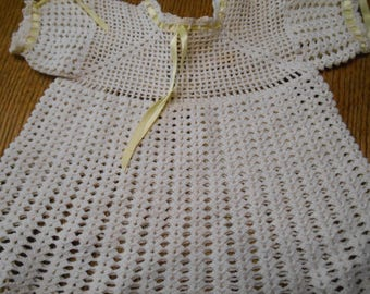 Vintage Infant Crochet Dress