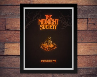 Are You Afraid of the Dark? The Midnight Society Poster - Classic 90s Nickelodeon
