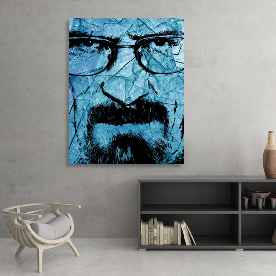 Top Chef - Breaking Bad Walter White - Heisenberg - Bryan Cranston Fine Art Print