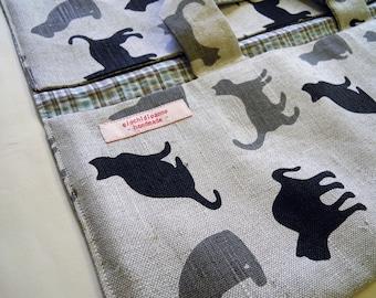 Casserole carrier - Pie holder - Pie bag - Cake bag - Pot carrier - For cat lovers! MEOW