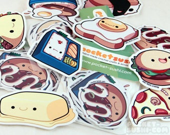 Delicious Food Stickers