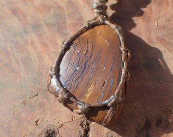 Boulder Opal Tribal Necklace