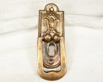 Vintage Key Hole Plate Escutcheon