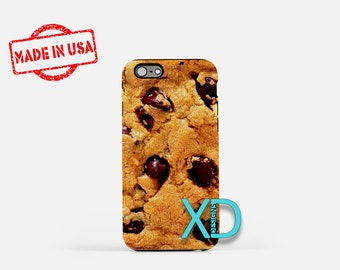 Cookie iPhone Case, Chocolate Chip iPhone Case, Cookie iPhone 8 Case, iPhone 6s Case, iPhone 7 Case, Phone Case, iPhone X Case, SE Case