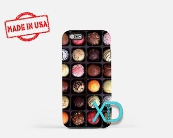 Chocolates iPhone Case, Candy iPhone Case, Chocolate iPhone 6 Case, iPhone 6s Case, iPhone 7 Case, Phone Case, Safe Case, SE Case