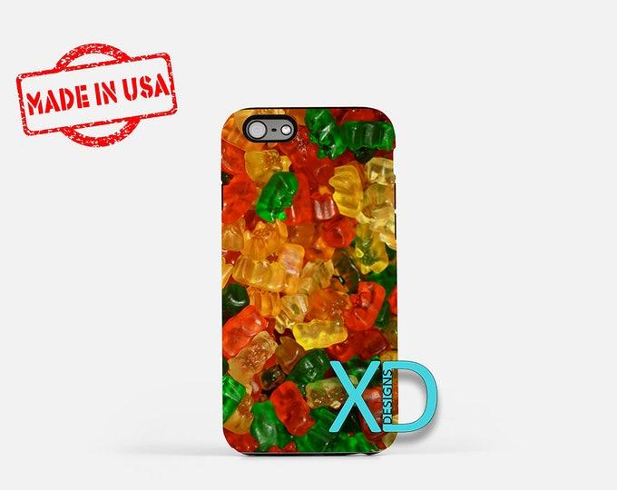 Gummy Bear iPhone Case, Candy iPhone Case, Gummy Bear iPhone 8 Case, iPhone 6s Case, iPhone 7 Case, Phone Case, iPhone X Case, SE Case