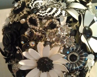 DEPOSIT |  Custom Brooch Bouquet | Wedding Bouquet | Made To Order