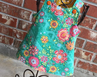 Reversible A-line dress 0-3 mo. LAST ONE!!