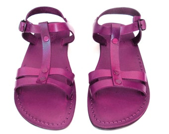 Leather Sandals, Leather Sandals Women, Sandals, Women's Shoes, MAYA, Flip Flops, Biblical Sandals, Jesus Sandals
