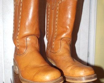 Men's Vintage Dingo Boots Size 10D Cowboys Best