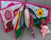 Quiet book Fairy for girl - PATTERN & TUTORIAL