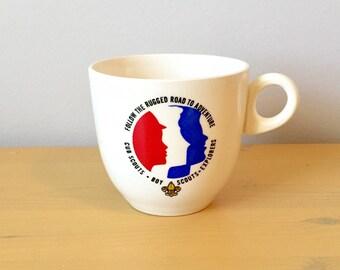Vintage Boy Scouts Mug