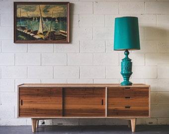 Mid Century Plywood Credenza