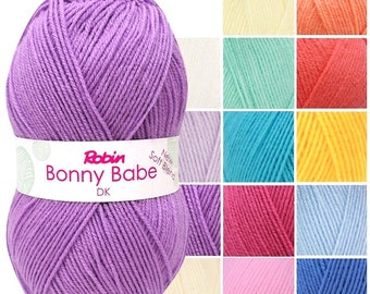 Robin Bonny Babe DK Super Soft Blend 100g 10balls