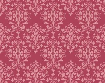 Salon Fleur 3637 22  Raspberry from Studio e Fabrics