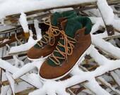 Winter men's shoes Hiker #1 Brushed