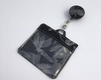 Badge/Id/Cruise Card Holder & Retractable Lanyard