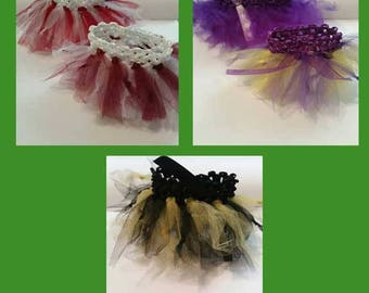 Juju tutus - made by Posh Couture NOTE: doll NOT included