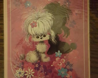 1970s Vintage Speedy Recovery Get Well Soon Card
