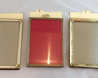 Vintage Gold 5 x 7 Picture Frames/Great Gold Tone Frame/5 x 7 gold  picture frames