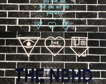 The Neighbourhood   vinyl decals