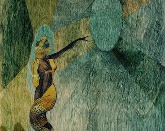 Mermaiden Greeting Card