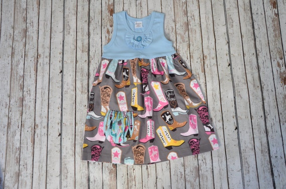 Cowgirl Pocket Dress 4/5