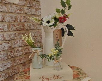 Rustic Wedding Centrepiece